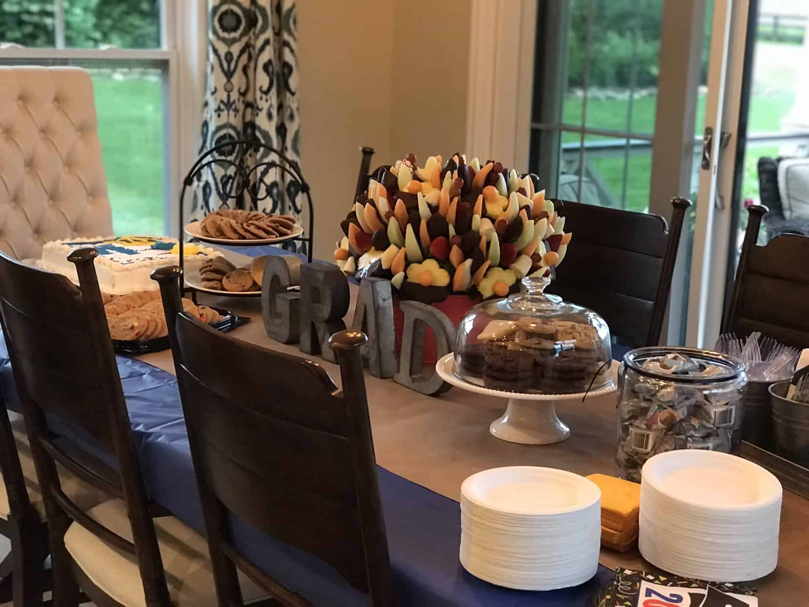 Last Weekend We Hosted My Sons High School Graduation Party,