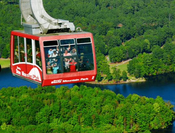 ee955ffdd18e First we Rode the Summit Skyride up the mountain – and then hiked back  down. (whew!!! I think next time I ll take the skyride back – it was just  INSANELY ...