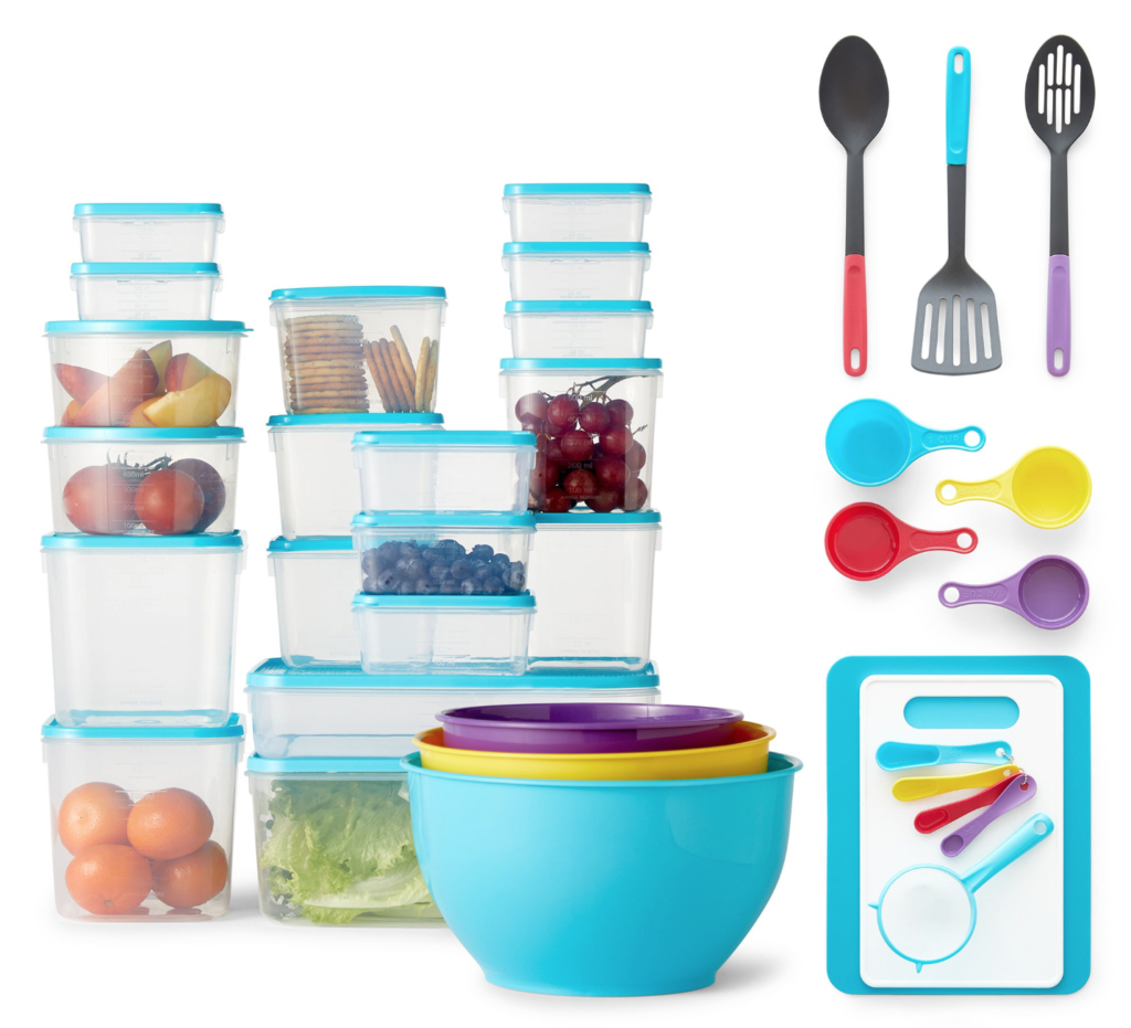 JCPenney | Cooks 55-Piece Kitchen Value Combo Pack $16.99 (Regularly ...