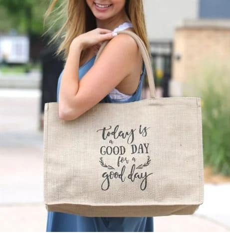 Burlap Beach Bags Or Everyday Bag Passionate Penny Pincher