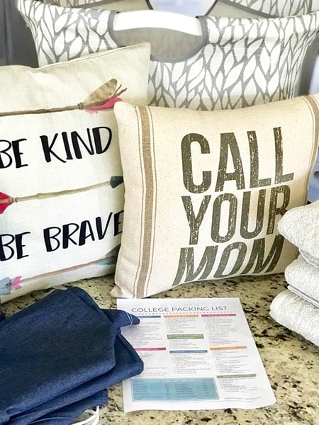 Throw Pillows for College