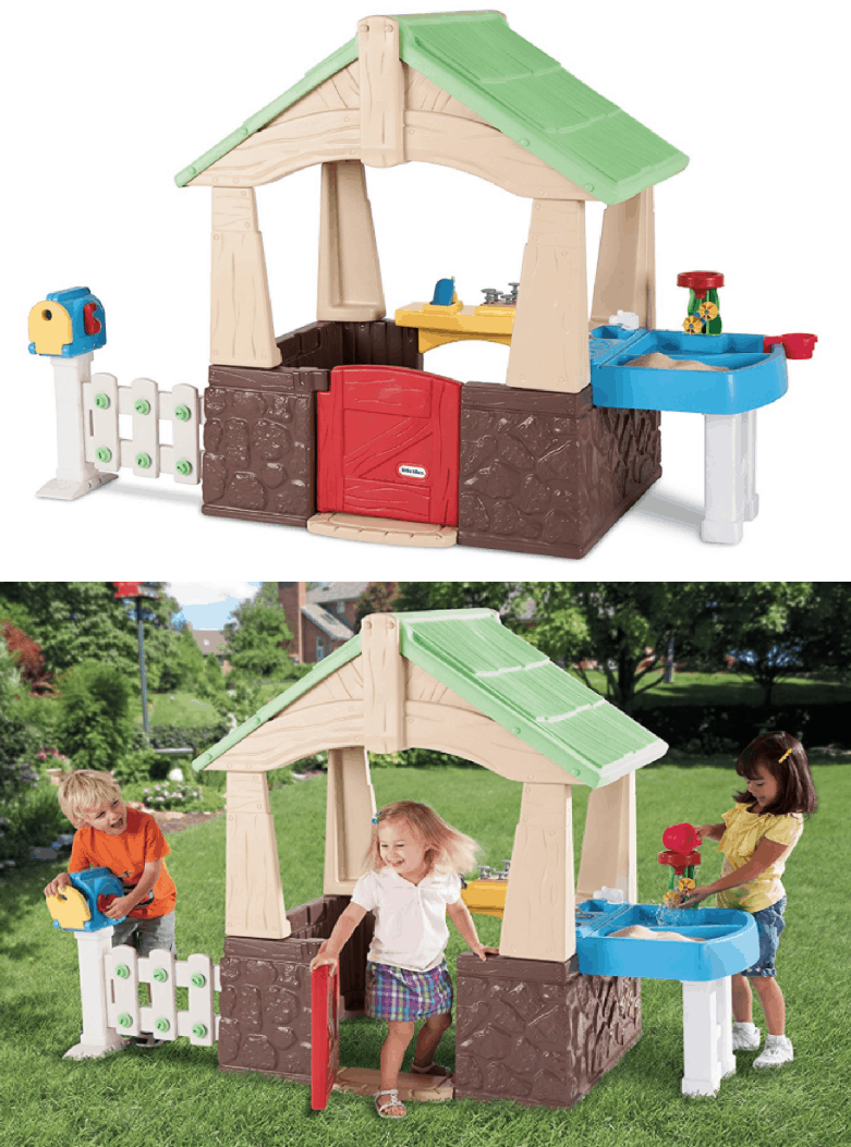little tikes deluxe home and garden playhouse 11932 regularly 19999 - Little Tikes Home And Garden Playhouse