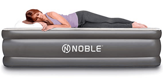 Lowest Price Queen Size Raised Air Mattress With Built In Pump
