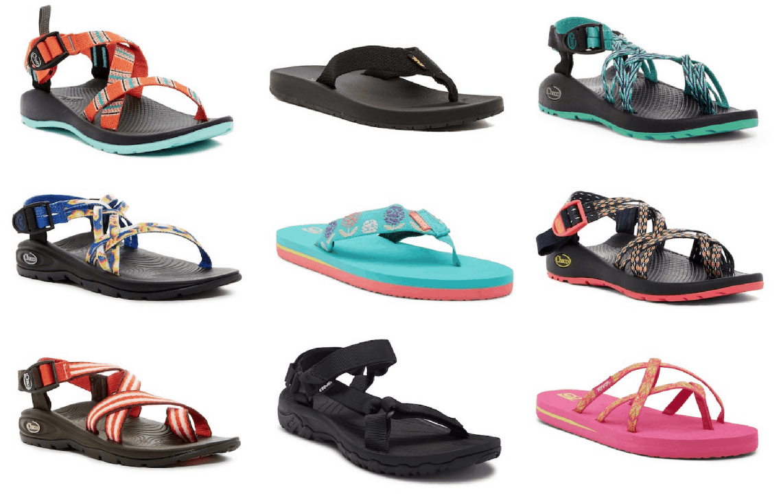 0fec8b40fdcc Up to 50% Off Teva and Chaco Sandals!