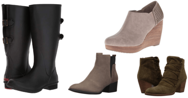1e339b0d1 Right now on Amazon you can score some HUGE savings on 4 pair of boots for  Fall – from Kenneth Cole Booties to Chooka Rainboots!