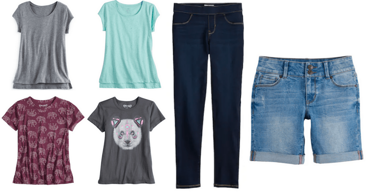 2f442658 Kohl's | Big Kids Tops & Bottoms from $4.78 each! (BACK TO SCHOOL ...