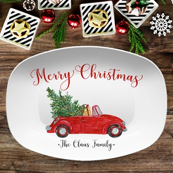 Christmas Platters For Sale.Personalized Holiday Platters Great Gift Idea