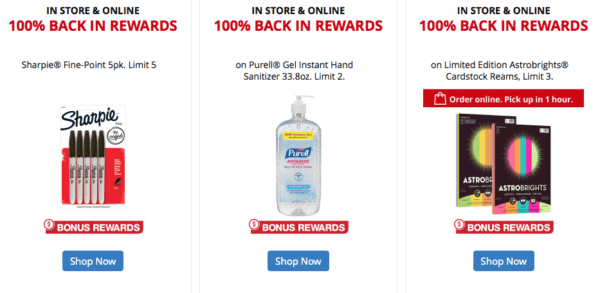 Office Depot | Free Purell, Sharpies, and More!