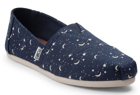 fc7fba322d9ca4 TOMS Moon   Stars Classic Slip-On Shoes –  39.99 (Reg  55)
