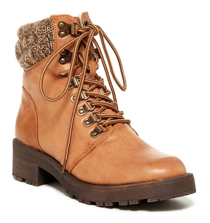 3fe5de3bb42 Tavin Lace-Up Boots – 50% OFF  Style  TAVIN
