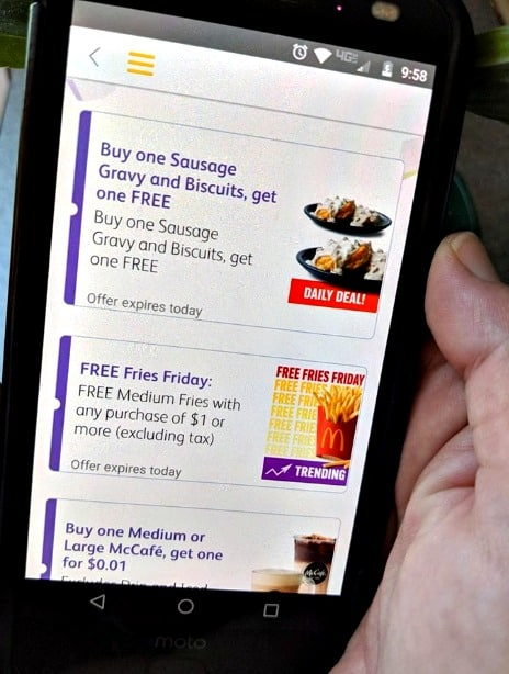 Check out these McDonald's App Deals - FREE Fries, BOGO Chicken Tenders, $1 Quarter Pounders and more!