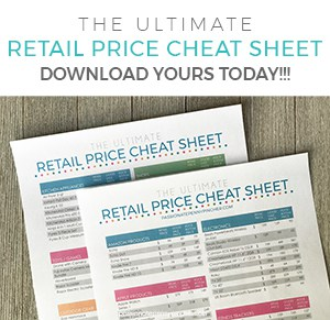 The Ultimate Retail Price Cheat Sheet