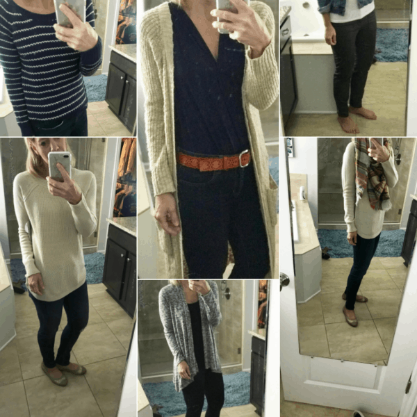 Lots of my stitch fix outfits that I've loved