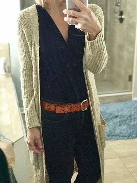 Each month I do a live Stitch Fix Review and unboxing to show you what kinds of outfits they're putting together for me - here's what I thought this month!