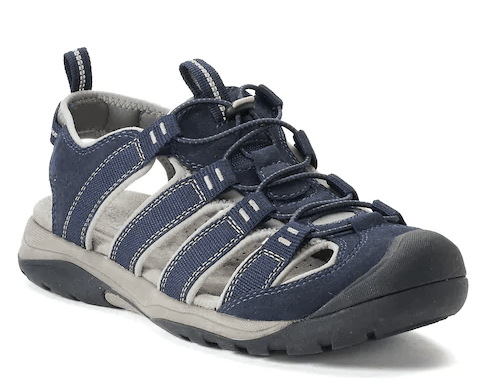 9bd36f042b4 Kohl's | Croft & Barrow Legato Men's Ortholite Fisherman Sandals As ...