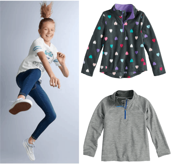 8855ec5f35 ... Kohl's you can stack codes to get some great deals on Kids' clothing!  (Just in time for chilly Fall weather) Here are just a few of our favorite  deals: