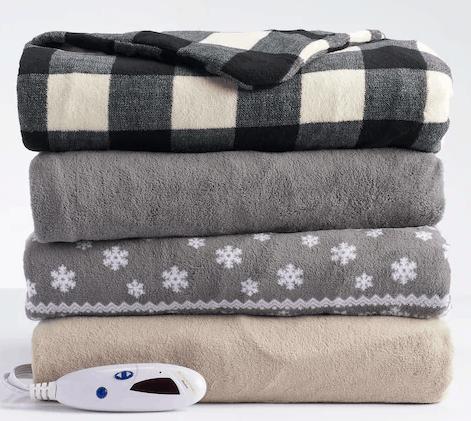 Kohl's Black Friday Deals Heated Blanket