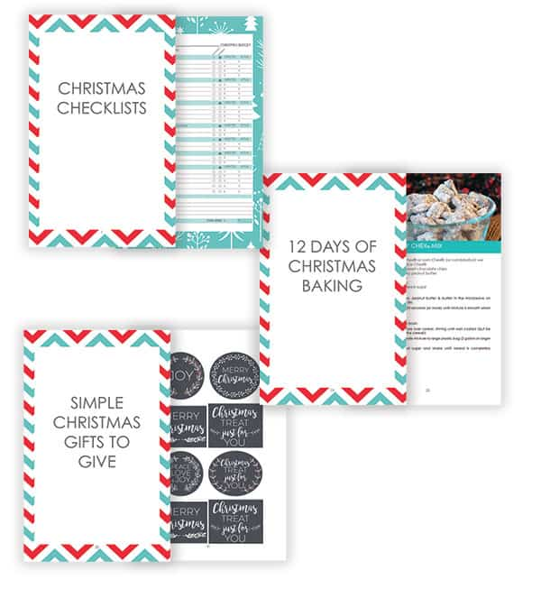 Christmas Checklists, 12 Days of Christmas Baking and Simple Christmas Gifts to Give