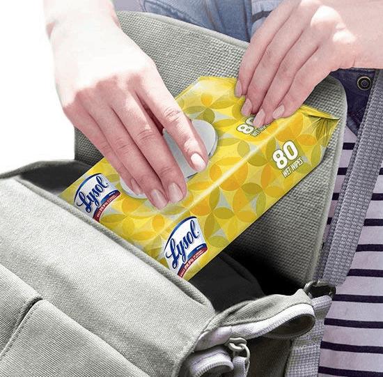 lysol handi-pack wipes