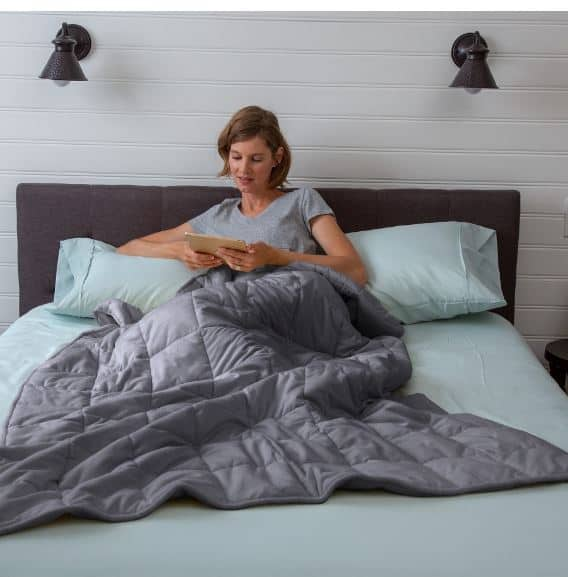 target weighted blanket throw as low as 53 shipped back in stock passionate penny pincher. Black Bedroom Furniture Sets. Home Design Ideas