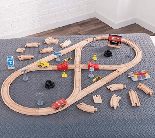 Disney Kidkraft Pixar Cars 3 Wooden Racetrack Under 2210