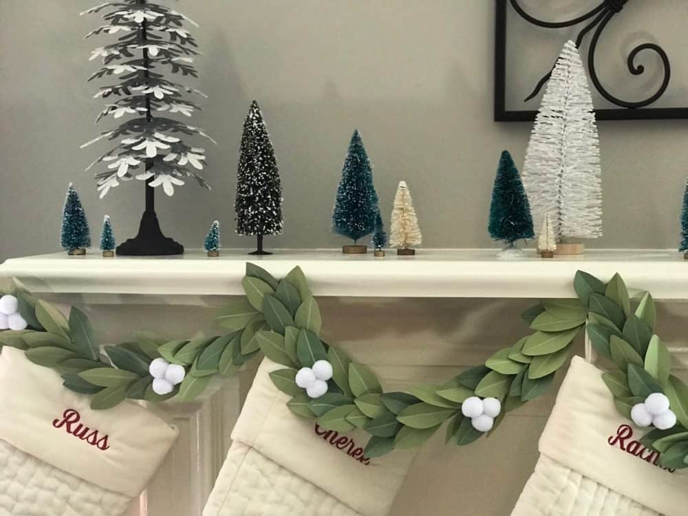 Winter Paper Garland