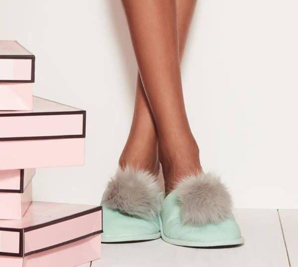 84e222be7ae Victoria s Secret Pom-Pom Slippers ONLY  5! (Reg  29.50)