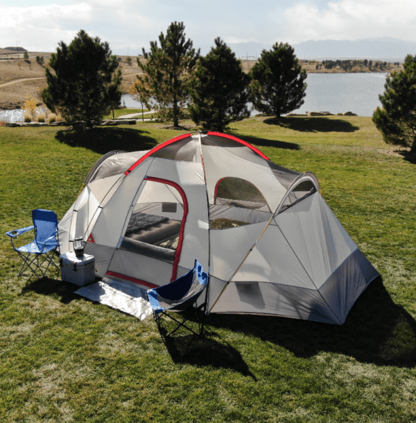 Walmart | Ozark Trail Weatherbuster 9-Person Dome Tent with Two