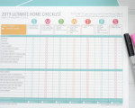The Ultimate Home Checklist - Planners Now Available!
