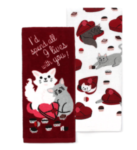 88aec615 How cute are these Valentine's Day Kitchen Towels! Right now after coupon  code, you can pick these up for just $5.59!