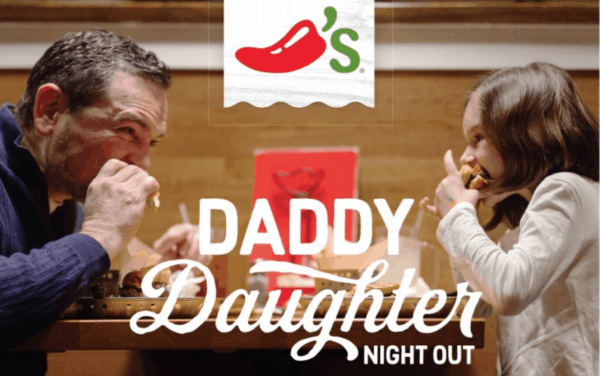 Chilis Valentines Day Daddy Daughter Night Out Tonight Only