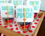 Valentine Juicebox Printable (Great for Classrooms with Food Allergies!)