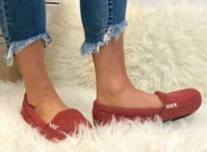 bf19a0cae Women's Microsuede Marisol Moccasin Slippers – $17.99 (Reg $28) Use code  30SALE