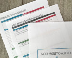 More Money Challenge Worksheets