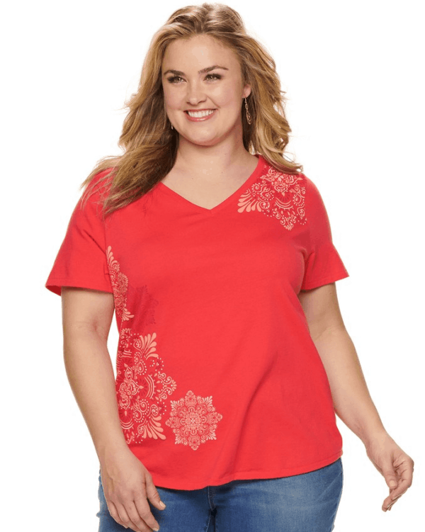 570a2f9dbe6fb Kohl s Plus Size Women s Clothing from  5.98 Shipped!