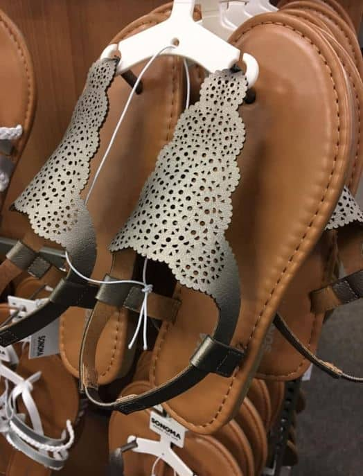 e539aab9f16a SONOMA Ivanaca Gladiator Sandals –  17.99 (Reg  25)