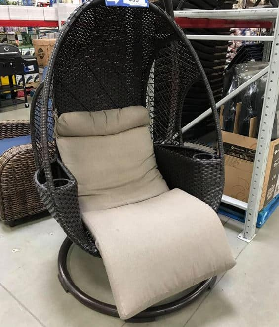 Astounding Sams Club The Hanging Egg Chair We All Want Back In Stock Ocoug Best Dining Table And Chair Ideas Images Ocougorg
