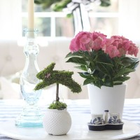 Easter Diy Centerpiece | Charming Bunny Topiary!