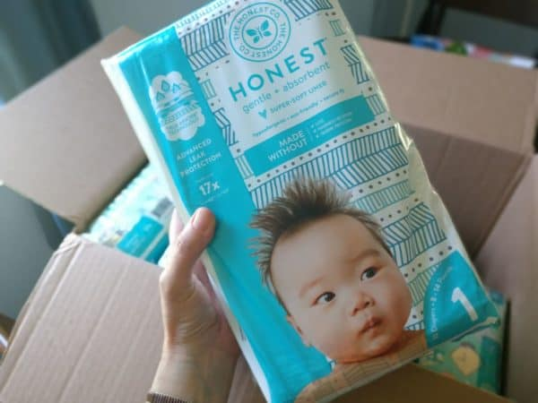 photo about Honest Company Printable Coupon titled Sincere Business Diaper Offer $6.85 a Pack + Cost-free Wipes