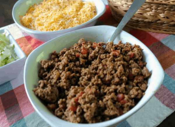 taco meat for walking tacos