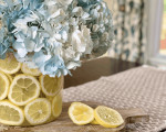 Dollar Tree Vases: Easy Lemon DIY