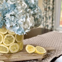 Dollar Tree Vases: Easy Lemon DIY