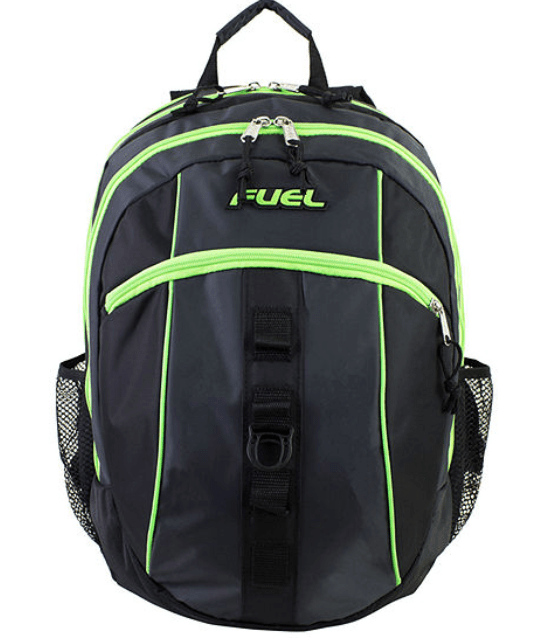 Lime Green Black Fuel Backpack