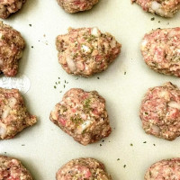 Homemade Beef Meatballs (Shannon's Family Favorite!)