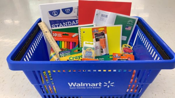Walmart school supply list