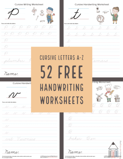 free printable cursive handwriting worksheets. Black Bedroom Furniture Sets. Home Design Ideas