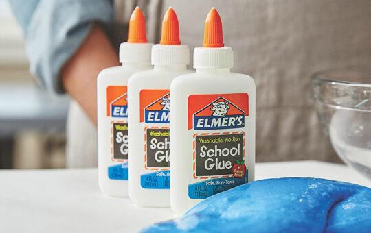 bottles of school glue