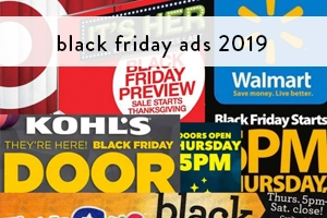 Black Friday Ads 2019