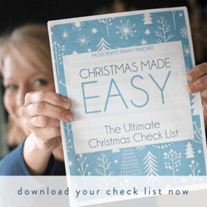 Download your Christmas Made Easy check list now!