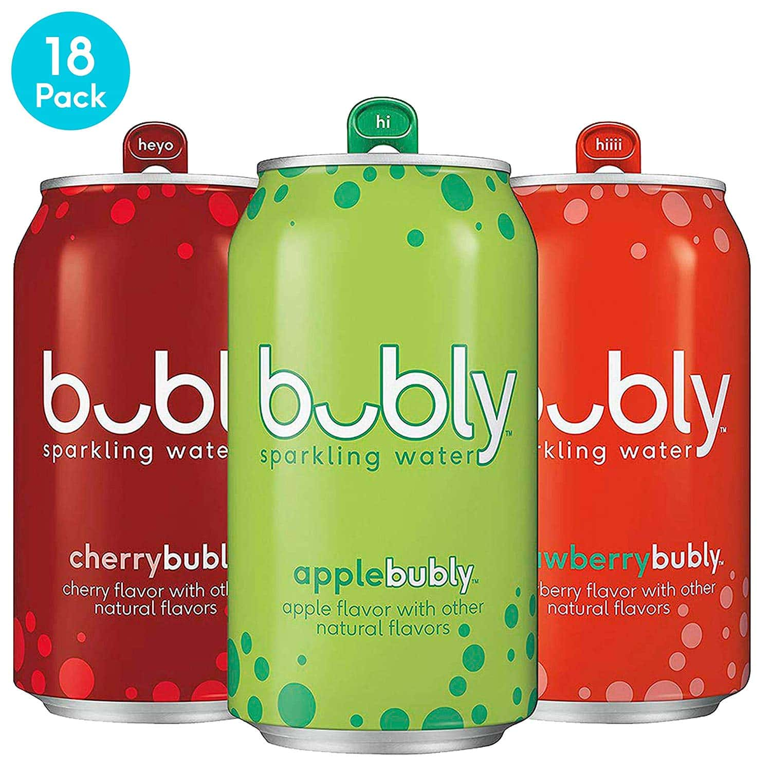 Bubly Sparkling Water Variety Pack